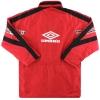 1998-99 Sevilla Umbro Bench Coat L