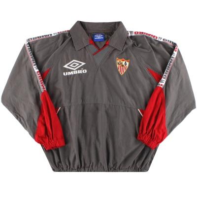 1998-99 Sevilla Umbro Track Top L