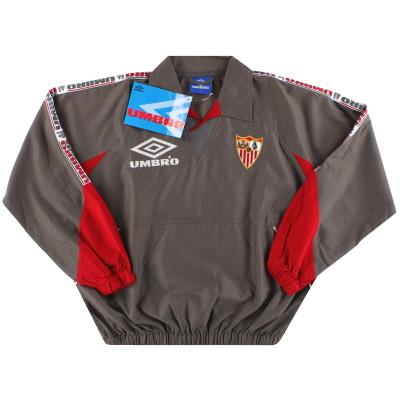 1998-99 Sevilla Umbro Track Top *BNIB* S