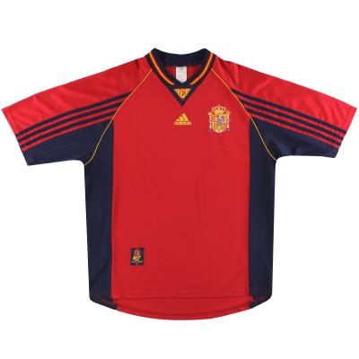 1998-99 Spain adidas Home Shirt S