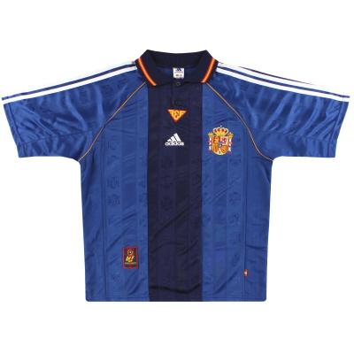 1998-99 Spain adidas Away Shirt L