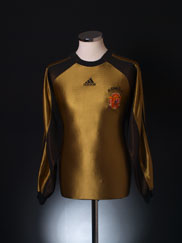 1998-99 Spain Goalkeeper Shirt XXXL