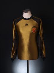 1998-99 Spain Goalkeeper Shirt XXXL
