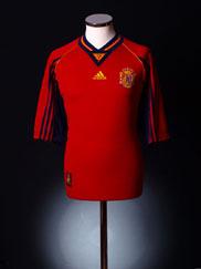 1998-99 Spain Home Shirt L