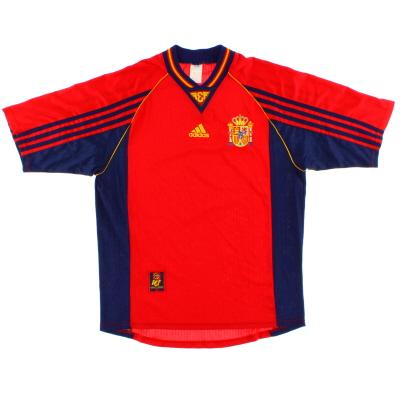 1998-99 Spain Home Shirt XL
