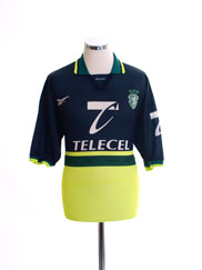 1998-99 Sporting Lisbon Away Shirt L