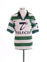 1998-99 Sporting Lisbon Home Shirt M