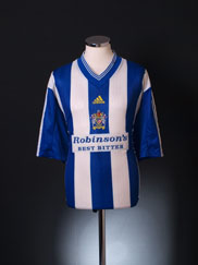1998-99 Stockport County Home Shirt XXL