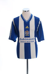 1998-99 Stockport County Home Shirt L