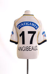 1998-99 Sturm Graz Home Shirt Angibeaud #17 M