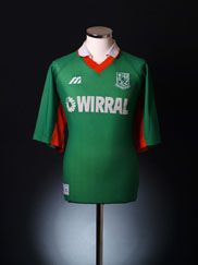 1998-99 Tranmere Rovers Away Shirt L