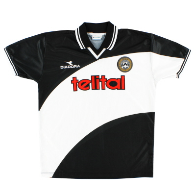 1998-99 Udinese European Home Shirt *Mint* XL