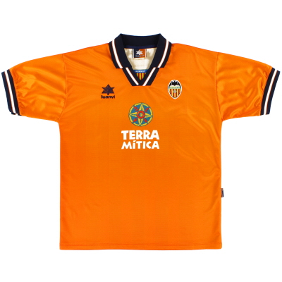 1998-99 Valencia Away Shirt XL