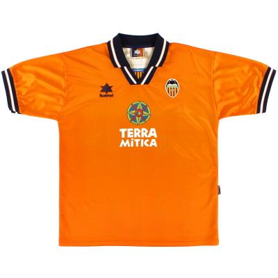 1998-99 Valencia Away Shirt XL