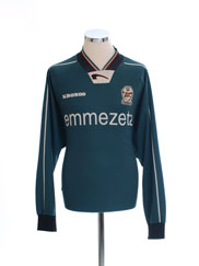 1998-99 Venezia Kronos Training Shirt L/S XL