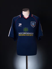 1998-99 West Brom Third Shirt L
