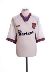 1998-99 West Ham Away Shirt L