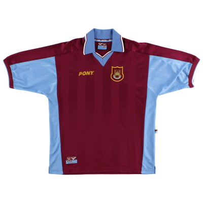 1998-99 West Ham Pony Home Shirt M
