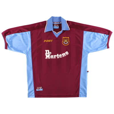 1998-99 West Ham Pony Home Shirt L