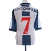 1998 Alianza Lima Match Issue Home Shirt #7 XL