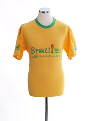 1998 Brazil 'Coupe du Monde 98' T-Shirt M