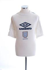1998 England Training Shirt L