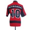 1998 Flamengo Home Shirt #10 L