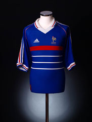 1998 France Home Shirt XL