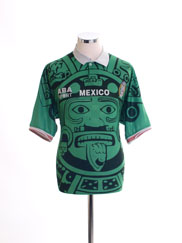 1998 Mexico Home Shirt L