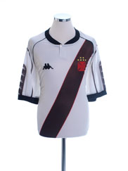 1998 Vasco da Gama Home Shirt #11 XL