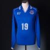 1998 Ventforet Kofu Match Issue Home Shirt #19 L/S L