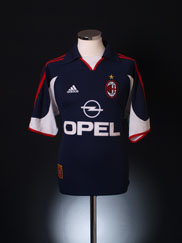 1999-00 AC Milan Centenary Third Shirt M