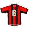 1999-00 AC Milan Player Issue Home Shirt #6 S