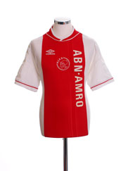 1999-00 Ajax Home Shirt L
