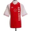 1999-00 Ajax Home Shirt Machlas #9 XXL