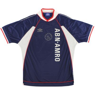 1999-00 Ajax Umbro Away Shirt L