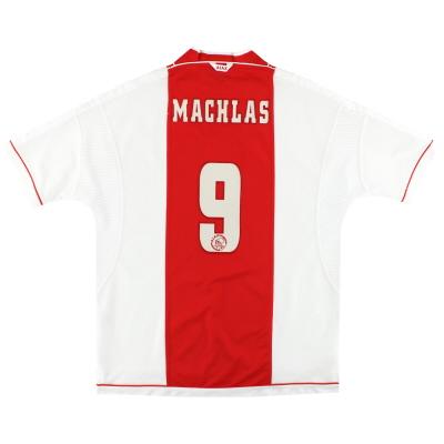 1999-00 Ajax Umbro Home Shirt Machlas #9 XXL