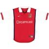 1999-00 Arsenal Nike Home Shirt Adams #6 M