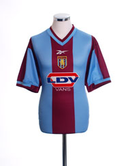 1999-00 Aston Villa Home Shirt M