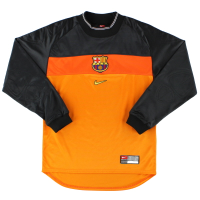 1999-00 Barcelona Goalkeeper Shirt S