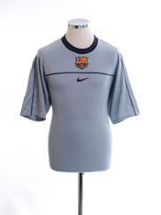 1999-00 Barcelona Training Shirt S
