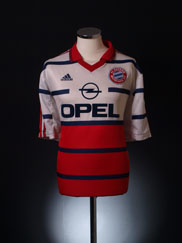 1999-00 Bayern Munich Away Shirt XL