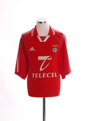 1999-00 Benfica Home Shirt XL
