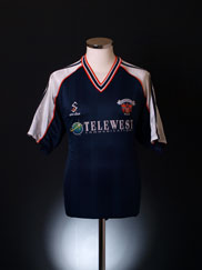 1999-00 Blackpool Away Shirt M