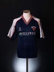 1999-00 Blackpool Away Shirt M