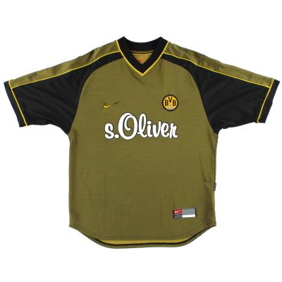 1999-00 Borussia Dortmund Nike Training Shirt M