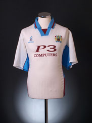 1999-00 Burnley Away Shirt L