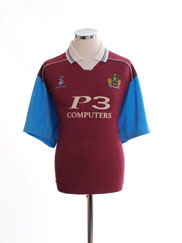 1999-00 Burnley Home Shirt L