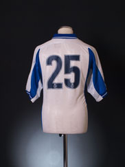 1999-00 Bury Player Issue Reserves Home Shirt #25 M