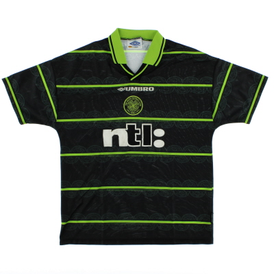1999-00 Celtic Away Shirt L